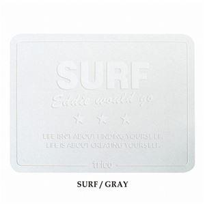 ノルコーポレーション trico珪藻土バスマットサーフ SURF/GRAY CTZ0801