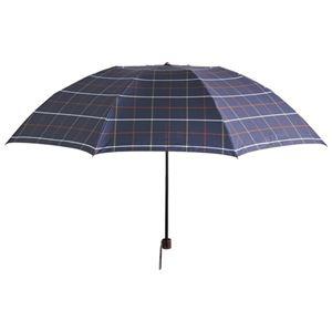 先染格子ミニ傘