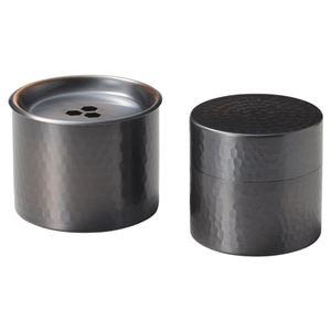 純銅茶筒(小)&建水セット