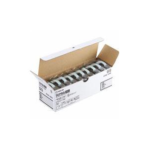 キングジム ST9K-10PN テプラPROテープ エコパック 透明 黒文字 9mm幅 8m 10個入