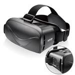 エレコム VRグラス/デュアルレンズ/Bluetoothコントロール機能付/ブラック P-VRGBT01BK