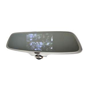 サンコー ミラー型360度全方位ドライブレコーダー リアカメラ付き CDVR36RC - 拡大画像