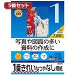 5個セットサンワサプライ インクジェット用スーパーファイン用紙A4サイズ250枚入り JP-EM5NA4-250X5