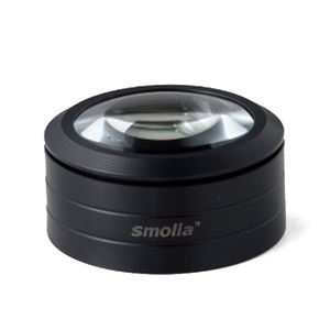 (まとめ) スリーアールソリューション LED拡大鏡smolia 3R-SMOLIA-L 【×2セット】