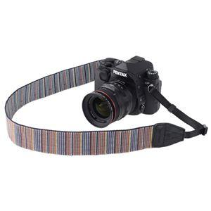 ARNUVO カメラストラップ インディアン ブルー VAR-0089