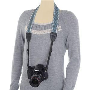 ARNUVO カメラストラップ インカユース ブルー VAR-0093