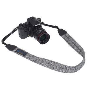 エツミ Gevaert カメラストラップ アースシャギー グレー VGV-007