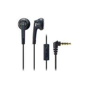 (まとめ) Audio-Technica オーディオテクニカ ヘッドホン ATHC505ISBK 【×5セット】