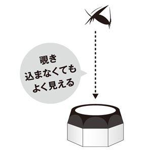 (まとめ) エツミ 卓上ルーペ 5×ワイド VE-5519 【×5セット】