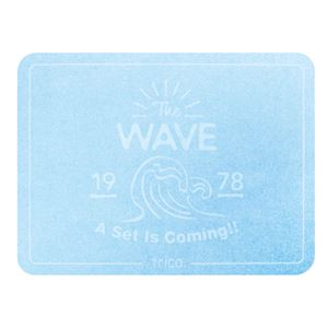 ノルコーポレーション trico珪藻土バスマットサーフ TheWAVE/BL CTZ0802