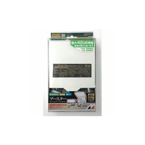 日本アンテナ NSB42DSUEBP 4K8K放送対応 利得切換式屋外用電源着脱型 UHF/BS・110°CSブースター