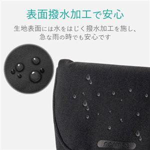 (まとめ) エレコム デジカメケース/カジュアルタイプ/LLサイズ/ブラック DGB-066BK 【×5セット】