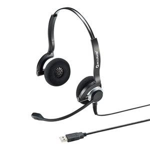 サンワサプライ USBヘッドセット MM-HSU08BK