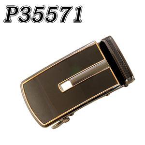 (まとめ) TENKAPAS サイズ自由自在 穴無しベルト快適 便利 オートロック 本革 ベルト メンズ P35571 【×2セット】