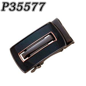 (まとめ) TENKAPAS サイズ自由自在 穴無しベルト快適 便利 オートロック 本革 ベルト メンズ P35577 【×2セット】