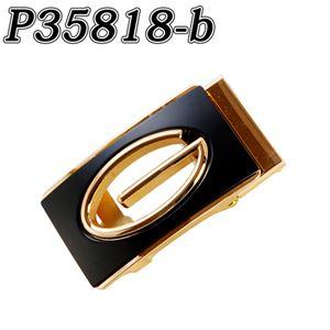 (まとめ) TENKAPAS 無段階調整 快適便利 オートロック 本革 ベルト メンズ P35818-b 【×2セット】