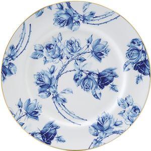 エインズレイ エリザベスローズ ブルー ティープレート C8012017