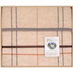 アルパカシリーズ アルパカ入りウール混綿毛布(毛羽部分) L2195058