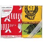 リサ・ラーソン カラフルシリーズ フェイスタオル&ウォッシュタオル2P C8091089の画像