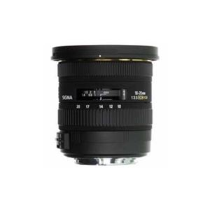 SIGMA 交換レンズ 10-20mm F3.5 EX DC HSM (APS-C用ニコンFマウント) AF10-20/3.5DC-HSM-NI
