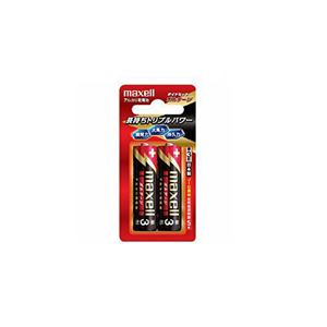 (まとめ) maxell 単3形アルカリ乾電池「ボルテージ」(2本入り) LR6-T-2B 【×10セット】