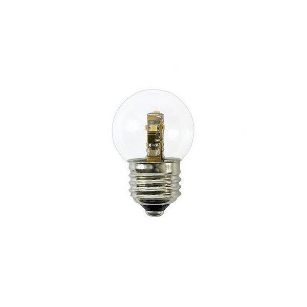 (まとめ) YAZAWA G50形LEDランプ電球色E17クリア LDG1LG50E173 【×5セット】