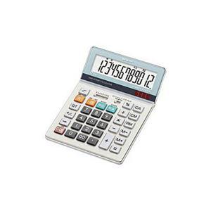 (まとめ) SHARP EL-S752K-X 電卓(セミデスクタイプ) 12桁 【×3セット】