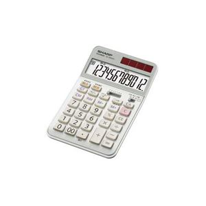 SHARP 実務電卓(ナイスサイズタイプ) EL-N942C-X