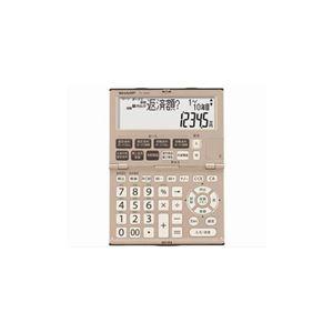 SHARP 金融電卓 (12桁) EL-K632X