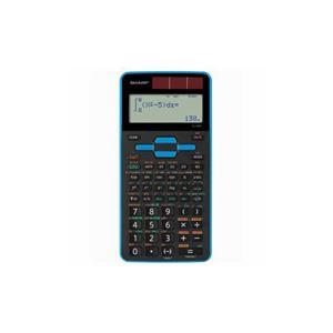 (まとめ) SHARP EL-509T-AX 関数電卓 559関数スタンダードモデル(青) 【×2セット】