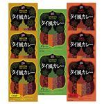 3種のタイ風カレーセット【8個】(タイ風レッドカレー・タイ風イエローカレー×各3、タイ風グリーンカレー×2)
