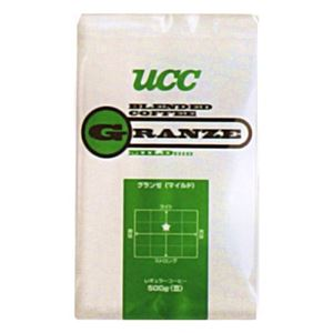 UCC上島珈琲UCCグランゼマイルド(豆)AP500g12袋入りUCC301203000