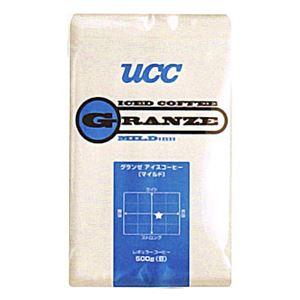 UCC上島珈琲 UCCグランゼマイルドアイスコーヒー豆AP500g 12袋入り UCC301187000