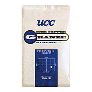 UCC上島珈琲 UCCグランゼストロングアイスコーヒー(粉)AP500g 12袋入り UCC301192000