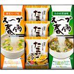 (まとめ)フリーズドライ たまごスープ&スープ春雨ギフト L2157014【×3セット】