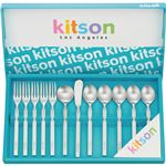(まとめ)キットソン ティータイム12ピース C8165127【×2セット】