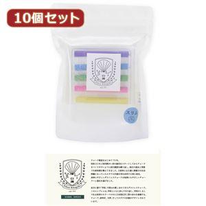 (まとめ)10個セット 日本理化学工業 スクールシリーズ スリム SC-6X10【×2セット】