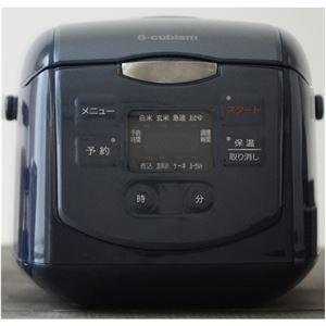 エスキュービズム4合炊きマイコン式炊飯器ネイビーSCR-H40N