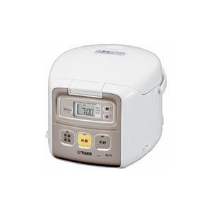 タイガー マイコン炊飯器 「炊きたて ミニ」 3.0合 ホワイト JAI-R551-W