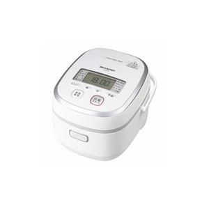 SHARP KS-HA10-W IHジャー炊飯器(5.5合) ホワイト系