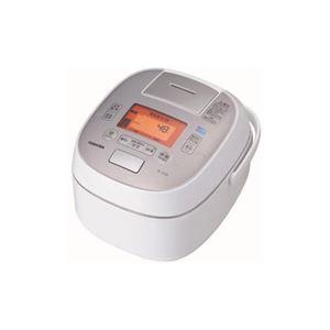 TOSHIBA 真空圧力IH炊飯器 「鍛造かまど銅釜」 1升炊き グランホワイト RC-18VSM-W