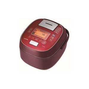TOSHIBA 真空圧力IH炊飯器 「鍛造かまど銅釜」 1升炊き ディープレッド RC-18VSM-RS