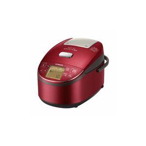 日立 圧力スチームIH炊飯器 5.5合炊き ふっくら御膳 メタリックレッド RZ-BV100M-R