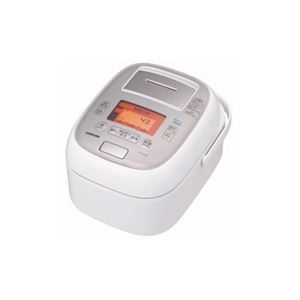TOSHIBA 真空圧力IH炊飯器 「鍛造かまど本丸鉄釜」 5.5合炊き グランホワイト RC-10VXM-W