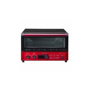 日立 コンベクションオーブントースター メタリックレッド HMO-F100-R