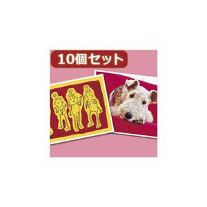 (まとめ)10個セットインクジェットプリンタ用紙・厚手(A6) JP-AGA6X10【×2セット】