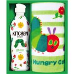 (まとめ) はらぺこあおむし キッチン洗剤タオルセット C8282025 C9283548【×5セット】