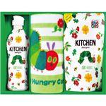(まとめ) はらぺこあおむし キッチン洗剤タオルセット C8282039 C9283555【×3セット】