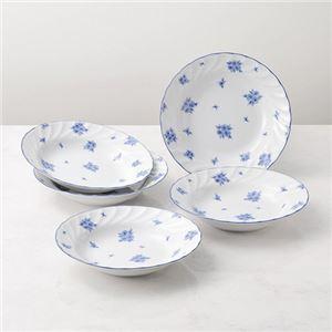 (まとめ)カレー皿5枚セット【×2セット】