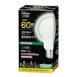 5個セット YAZAWA 一般電球形LED 60W相当 昼白色 LDA7NGX5